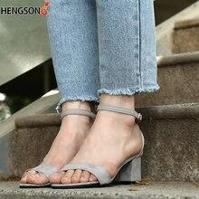 2019 Ankle Strap Heels Women Sandals Summer Shoes Women Open