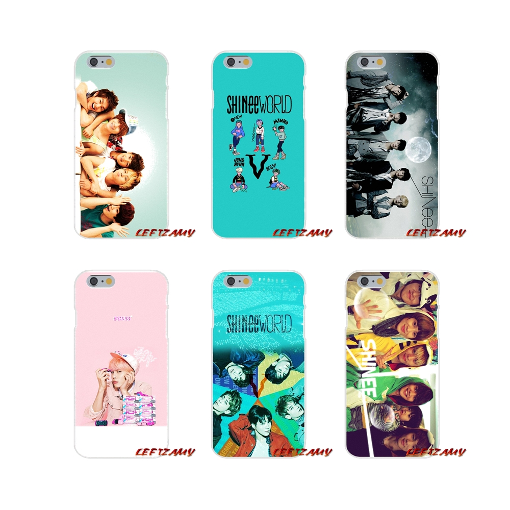 For <font><b>iPhone</b></font> X XR XS MAX 4 4S 5 5S 5C SE 6 6S 7 8 Plus ipod touch 5 6 SHINee <font><b>KPOP</b></font> Boy Accessories Phone Shell Covers image