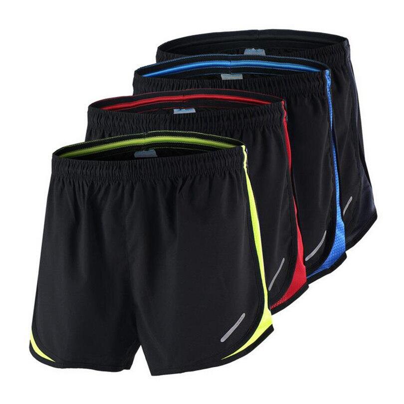Shorts de Corrida Esportes dos Homens Shorts de Secagem Curtas ao ar 2 em 1 dos Homens Dichski Rápida Formação Exercício Jogging Ciclismo Sweatpants Livre