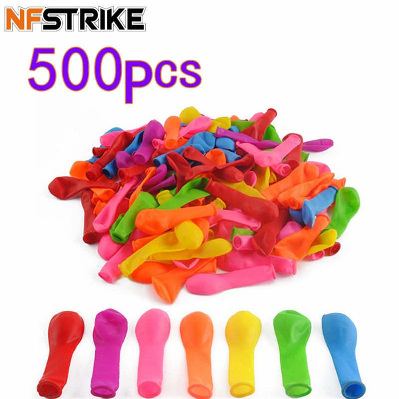 500Pcs Funny Water Balloons Toys Magic Summer Beach Party Outdoor Filling Water Balloon Bombs Toy For Kids Adult Children