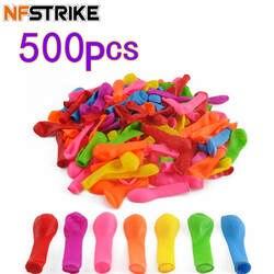 500 шт. забавные водяные шары игрушки волшебные летние пляжные вечерние открытый наполнение воды воздушные шары с изображениями бомб