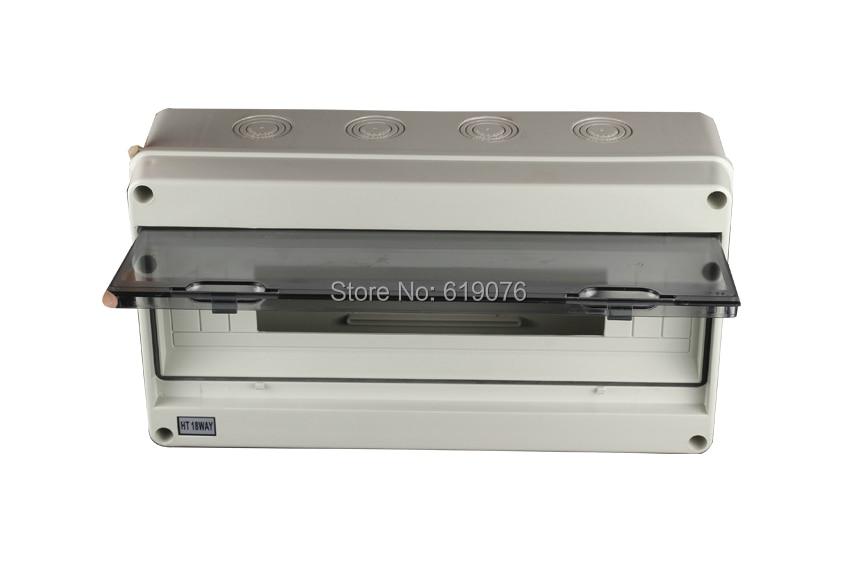 HT-18WAY  365*195*110  Waterproof Power Distribution Box Home switch box  цены