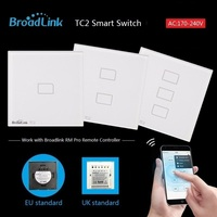 Broadlink TC1 1 Gang Smart Phone Remote Wall Touch Switch UK Standard RF 433MHz Control Lamps