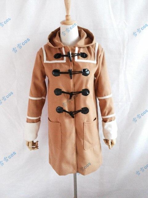 2016 № 6 Shion косплей пользовательских любой размер просто пальто
