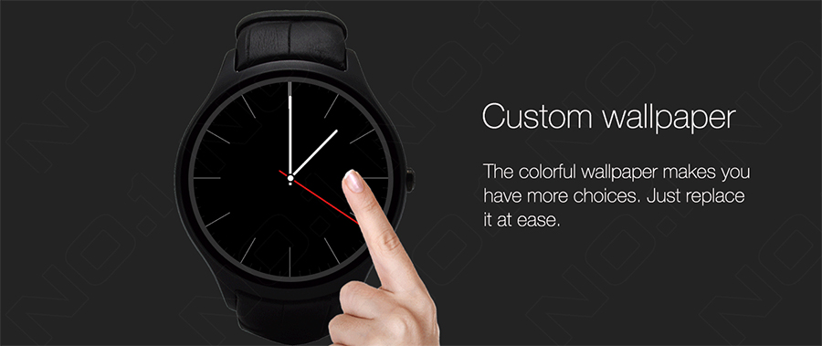 NO.1 D5 Bluetooth Smart Watch Phone Android 4.4 Smartwatch Waterproof Heart Rate MTK6572 1.3 inch GPS 4G 512M Wristwatch for IOS