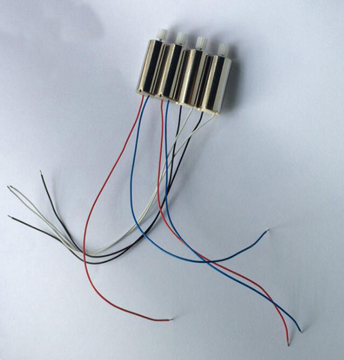 20PCS/Set H502S H502E motor for Hubsan H502S H502E RC Quadcopter Spare Parts Accessories