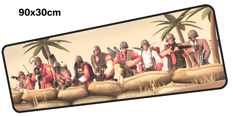 team fortress mousepad gamer 900x300X3MM gaming mouse pad Professional notebook pc accessories laptop padmouse ergonomic mat
