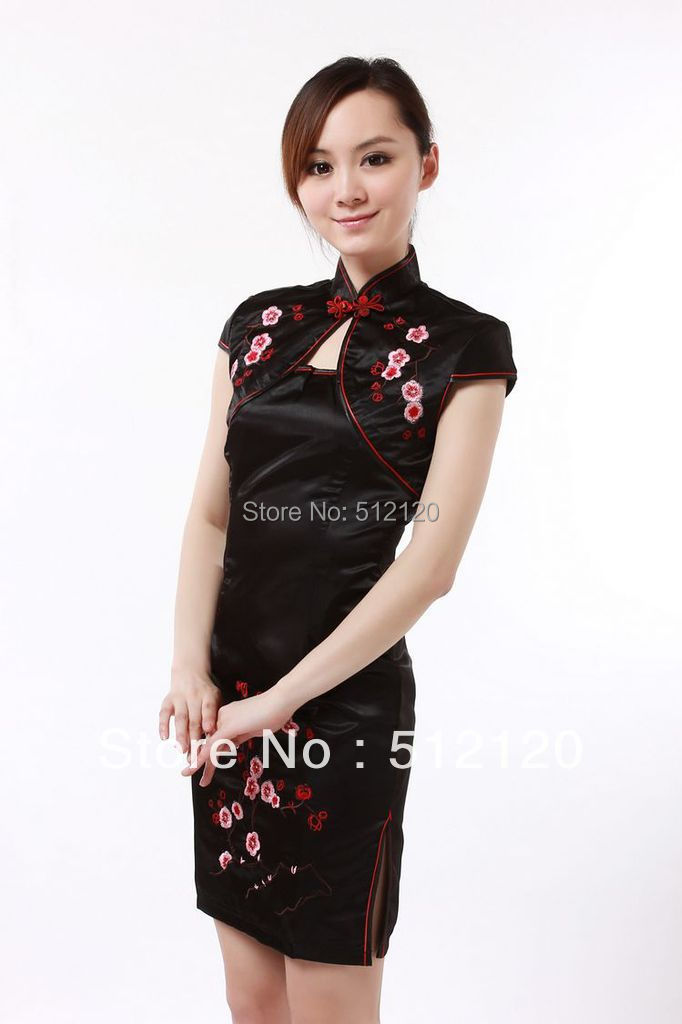 Free Shipping New High Quality Qipao Chinese Tranditional Qipao Traditional Chinese Wedding Dress Cheongsam Sexy Cheongsam JY058