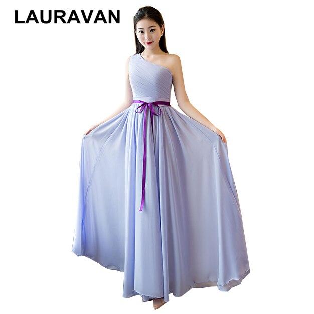 Beautiful Bridemaids Dresses Girls Ladies Summer Girl Party Dress Xs Size One Shoulder Size 2 Floor Length Bridemaid Dress