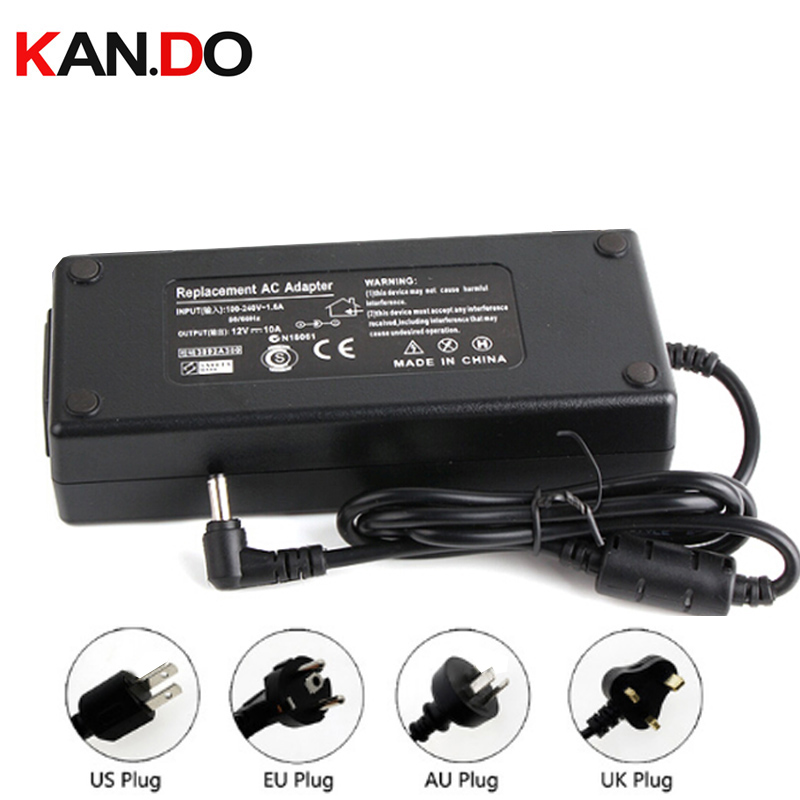 US/Eu/AU/UK camera power box power adaptor AC transformer 12V 10A DC adaptor 110-240V to 12V Power Supply 5.5x2.1mm DC 12V power ac to dc 12v 1a power adaptor with 5 4mm dc plug eu type 110 240v