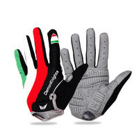 2016 Hot Cycling Gloves Bicycle Sports Full Finger Touch Screen Gloves GEL Pad Shock Absorption Bicycle