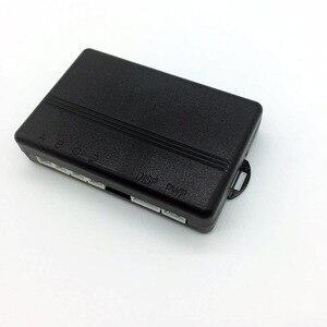 Image 3 - Ludzki głos z Engilsh czujnik parkowania samochodu na wszystkie samochody System monitorowania radaru dodatkowego z 4 czujnikami