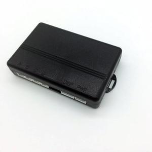 Image 3 - Voz humana com engilsh sensor de estacionamento do carro para todos os carros reverso assistência radar backup sistema monitor com 4 sensor