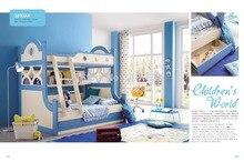 3333 современных детей мебель деревянная детская кровать двухъярусная детская кровать двухслойная детская кровать