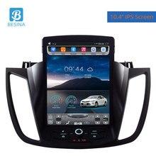 Besina 10,4 дюймов Android 6,0 автомобильное радио для Ford Kuga 2013-2016 мультимедийный плеер gps навигация 2 г + 32 GHIFI стерео Авто Аудио