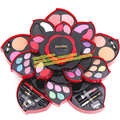 Fashion Korean Brand Miss Rose Rotation Make Up Kit Ultimate Color Collection Party Wear Makeup Palette Eye Shadow Blush Powder