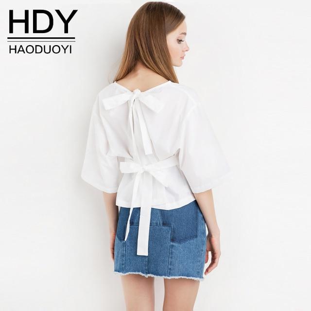 814 Haoduoyi Dété 2017 Mode Tumblr Marque à Manches Courtes Tee Shirt Blanc T Shirt Femmes T Shirt Femme Top Femme T Shirt Poleras Hipster Dans