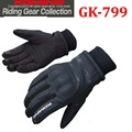 2016 winter KOMINE GK-799 motorcycle gloves keep warm waterproof windproof motorbike gloves of leather black color size M L XL