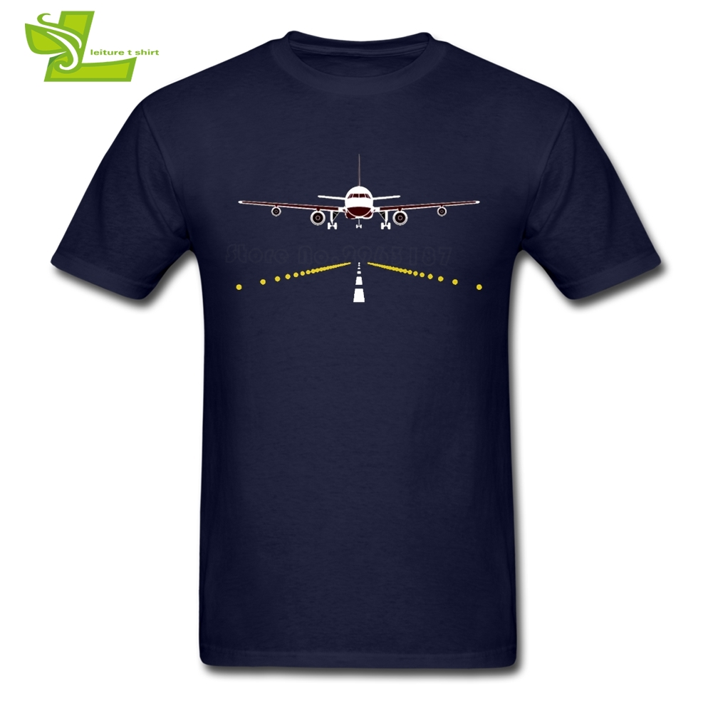 Airplane Pilot T Shirt Male Latest Tshirts Home Wear High Quality Loose T-Shirt Men Short Sleeve 100% Cotton Cool Dad Tees
