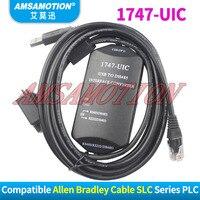 1747-UIC Kompatibel Allen Bradley SLC Serie PLC Download-kabel USB-1747PIC USB ZU RS232/DH-485 Schnittstellenwandler