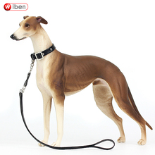 Wiben hot toys Pet dog Greyhound Simulation Animal Model Action & Toy Figures Classic toys for Children Gift Collection