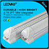 LEDVAS 2-Pack 18W T8 2Ft LED Integrated Tube Lights Double Strips 30cm 144led Light Lamp Bulb 2feet 60cm AC85-265V Led Lighting
