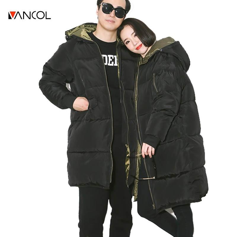 ФОТО  White Duck Down Winter Coat Women's Slim Long Parka Jackets Coats Overcoat Winter Jacket Women Plus Size Winter Couple Clothes