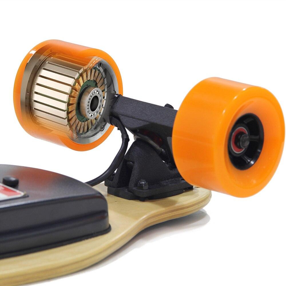 Maxfind 70mm 90mm Motor eléctrico 500 W alta velocidad disco Brushless Hub Motor, auto-equilibrio inteligente Motor de rueda - 4