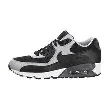Original auténtico Nike Air Max 90 esencial de los hombres Zapatos de deporte al aire libre zapatillas de 2018 nueva llegada 537384- 136(China)