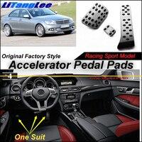 LitangLee Car Accelerator Pedal Pad Cover Factory Sport Racing Design For Mercedes Benz C CLC MB