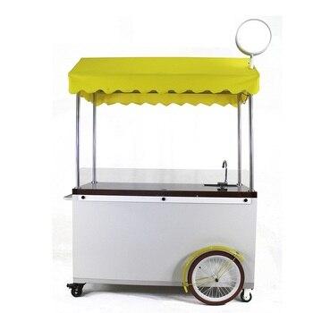 Mobil sokak yemeği kiosk sepeti, pişirme dükkanı büfe yiyeceği kamyon satılık