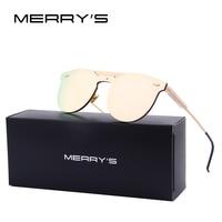 MERRY S Women Retro Cat Eye Sunglasses Brand Designer Mirror Glasses S 8072