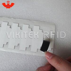 Image 2 - UHF RFID ultrathin anti metal tag omni ID IQ150 915m 868mhz Impinj MR6 10pcs free shipping printable small passive RFID tag