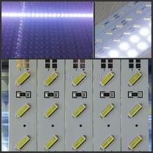 100 шт./лот новые 65lm/led импортный SMD 8520 жесткая панель световая полоса двойной 72* SMD 8520 адвокатского сословия СИД DC12V