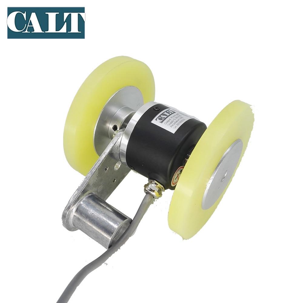 GHW52 longueur de mesure rouleau roue codeur 4096 p/r avec double 200mm circonférence roues - 3