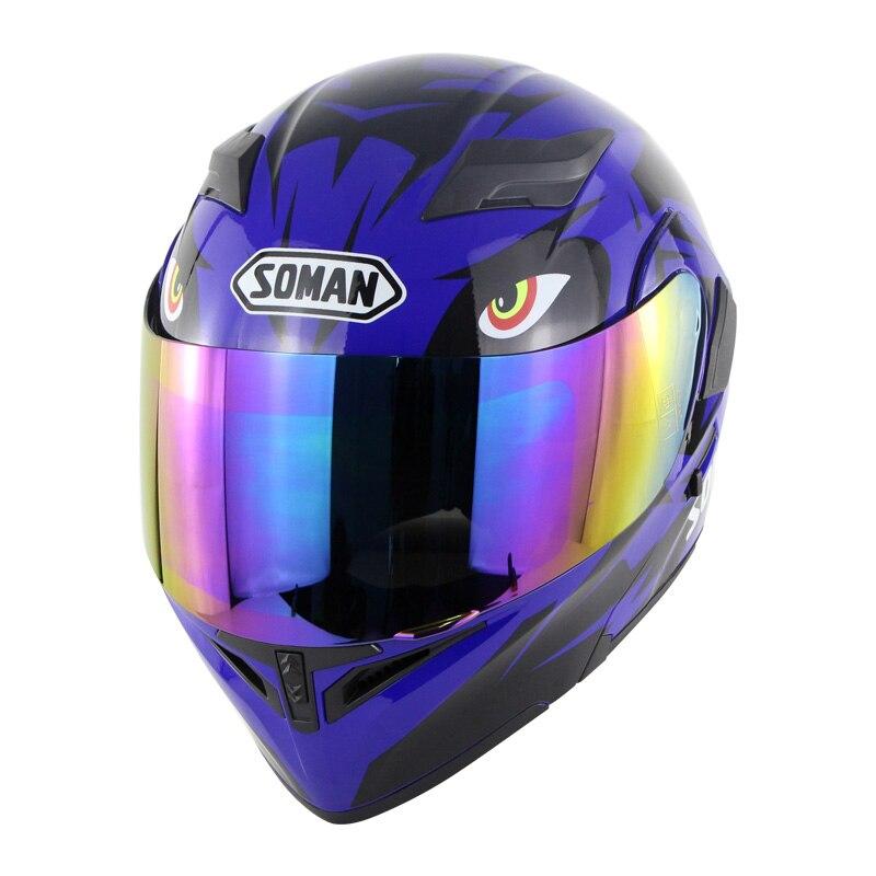Offre Spéciale Sol 68 S 69 S Licorne Intégral Moto Rcycle Casque