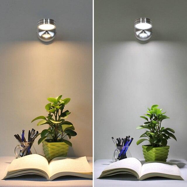 Đèn LED Dán Tường AC85 265v 5W Phòng Ngủ Hiện Đại Đèn Ngủ Độ Góc Điều Chỉnh Đèn Đèn Đọc Sách Có Công Tắc