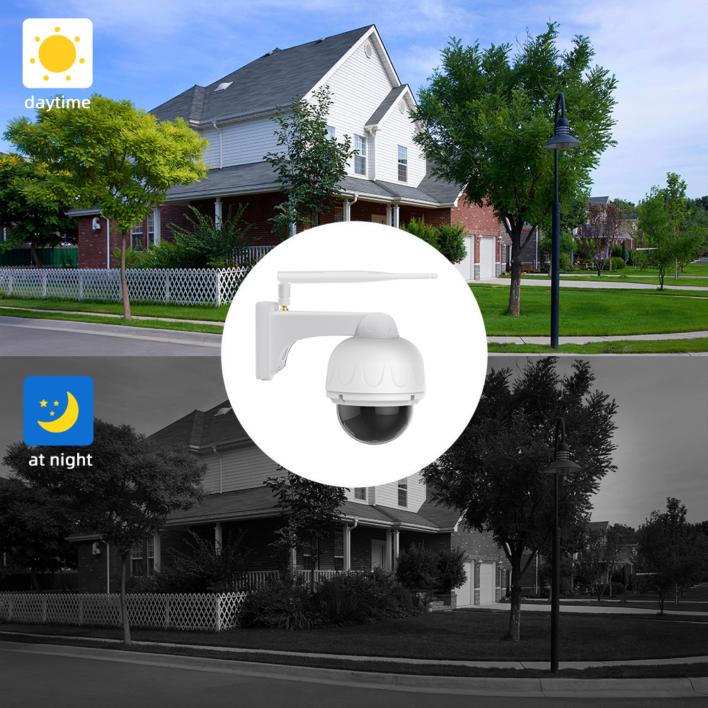 Image 5 - Vstarcam 1080P IP Camera 4X Zoom IP66 Waterproof Outdoor Wifi Camera Auto Focus PTZ CCTV Surveillance Security Camera IR Night-in Surveillance Cameras from Security & Protection