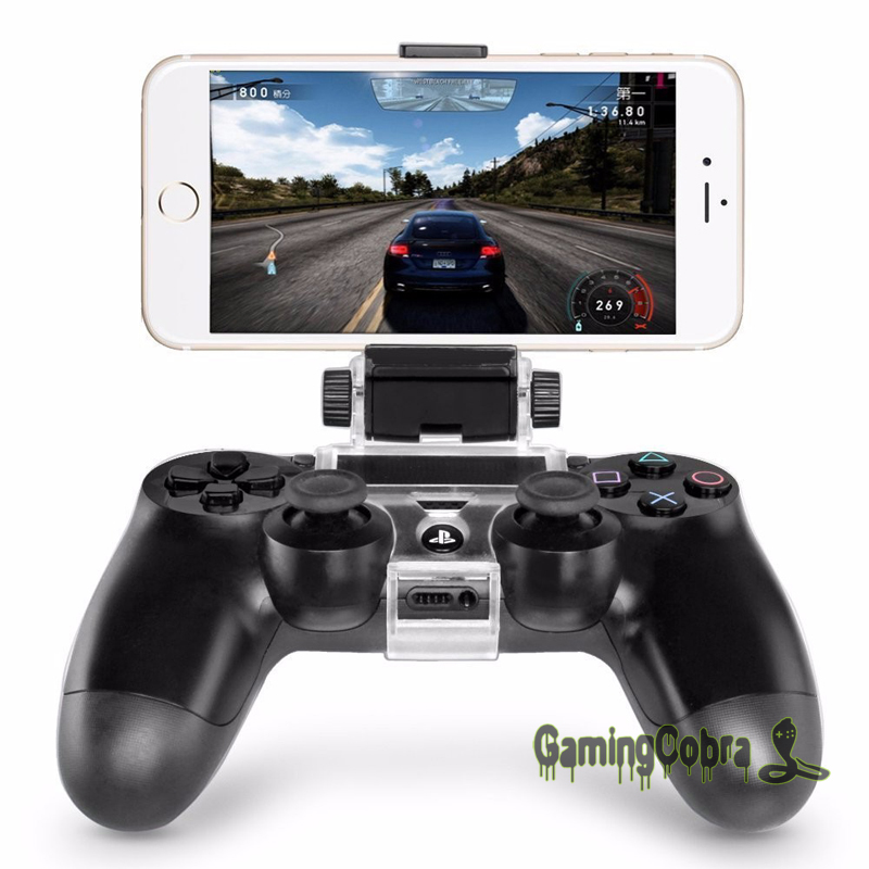 Smart Clip Cell Mobile Phone Clamp Holder For PS4 Playstation 4 Game Controller