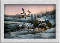 Terry Redlin Evening_Company ölgemälde HD leinwand druck giclee dekoration wandmalereien urlaub geschenk no frame