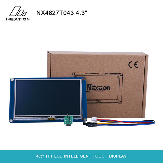 """Nextion NX4827T043   4.3"""" TFT LCD Intelligent Touch Display Best Solution to Replace the Traditional LCD and LED Nixie Tube"""