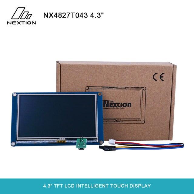"""Nextion NX4827T043 écran tactile Intelligent TFT LCD 4.3 """"meilleure Solution pour remplacer le Tube LCD et LED Nixie traditionnel"""