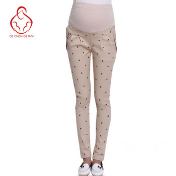 High quality! Maternity Pants Maternity pregnancy pants tight autumn and winter clothes for pregnant women care belly pants цена 2017