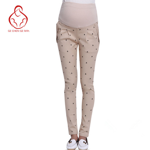 High quality! Maternity Pants Maternity pregnancy pants tight autumn and winter clothes for pregnant women care belly pants