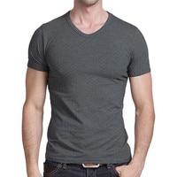 T shirt men's autumn clothing 2019 new summer blouse trend clothes bottoming shirt short sleeved men's sweater autumn