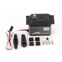 JX Servo 33KG Metal gear High Voltage Core Analog Servo PS HV9033MG for 1/5 RC Car compatible SAVOX 0236 LOSI XL 5T BAJA Model