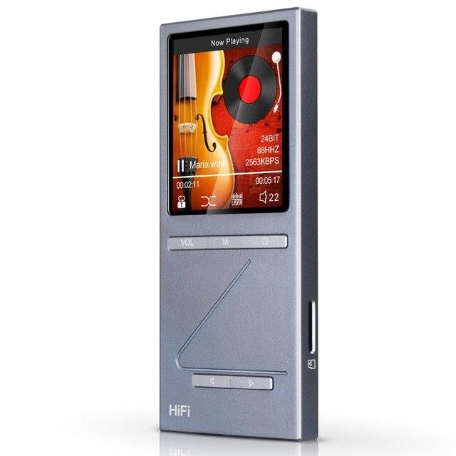 "Original ONN X5 Hifi DAC de Audio Reproductor de MP3 Jugador con 2 ""Pantalla 8 GB Lettore con la Ayuda FM APE/FLAC/ALAC/WAV/WMA/OGG/MP3"