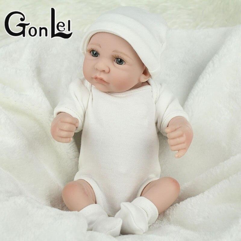 Premie bebes Reborn Dolls Realistic newborn baby Doll soft full body silicon New