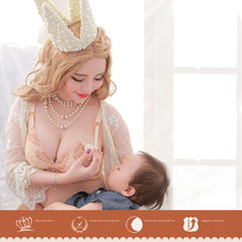 ZeeChi Maternity Nursing Bra for Breast Feeding Cotton Front Closure Pregnant Women Underwear upper opening B C D E F Cup  4065