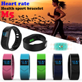 M5 Smart Wrist band Heart Rate boold pressure blood oxygen Monitor Sport Smartband Bracelet for IOS Android PK Fitbits Miband